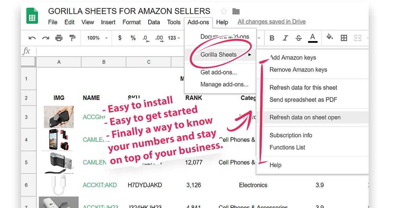 Amazon FBA accounting