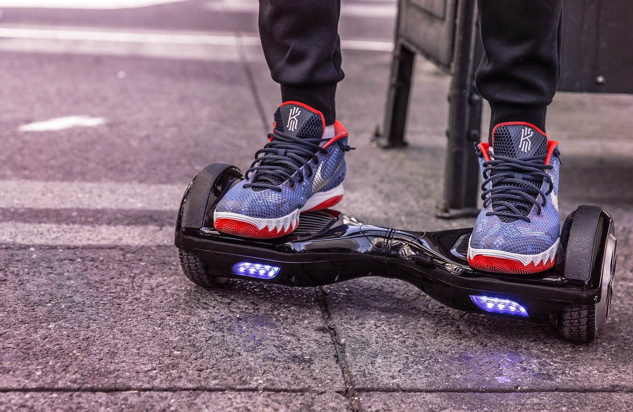 Hoverboard craze of 2016